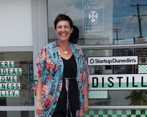 Startup Dunedin's new chief starter, Donna Hall, relishes her new role. Photo: Supplied