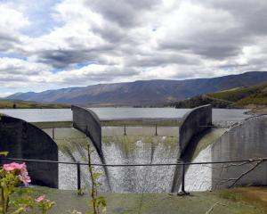 The Falls Dam spillway, on Loop Rd 10km east of St Bathans. The powerhouse was built in 1935 and...
