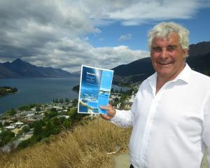 Harcourts' local managing director Kelvin Collins. Photo: Mountain Scene