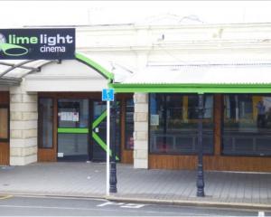 Limelight Cinema in Oamaru. Photo: Spivey Real Estate