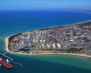The Marsden Point refinery at Whangarei. PHOTO: SUPPLIED