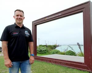 Alps 2 Ocean Ultra organiser Mike Sandri at Oamaru Harbour, where the endurance adventure race of...