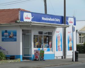 The Meadowbank Dairy in Oamaru in 2015. Photo: ODT