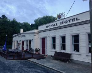 The Royal Hotel, aka the bottom pub, Naseby. PHOTO: JANE KING