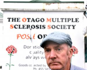 Otago Multiple Sclerosis Society acting president Michael Harrison stands by the organisation's...