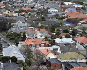 Dunedin's rapid  population growth is putting pressure on the number and value of houses...