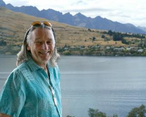 Voice and co-founder of Supertramp, Roger Hodgson, at The Rees Hotel in Queenstown today ahead of...