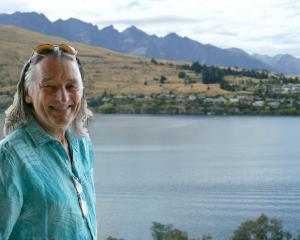 The voice and co-founder of Supertramp, Roger Hodgson, at his hotel in Queenstown yesterday,...