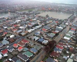 South Dunedin was hit hard by the flooding in June 2015. Photo: ODT files