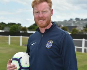 Stephen Last  is hoping to bounce back this weekend for Southern United against Auckland City....