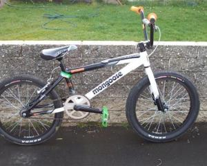 The missing BMX bike. Photo supplied.