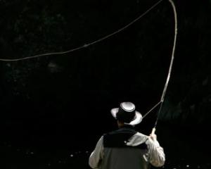 Fishing for brown trout. Photo: NZME
