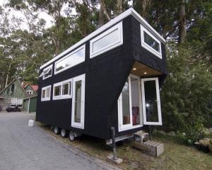 A tiny house in the Wairarapa. Photo: Wairarapa Times-Age