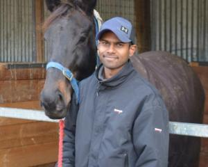 Apprentice Zubair Bholah is hoping to further his riding career after moving to Wingatui from New...