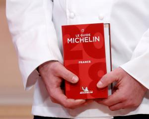 The Michelin star system is a European restaurant rating system. Photo: Reuters
