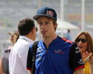 Brendon Hartley. Photo: Reuters