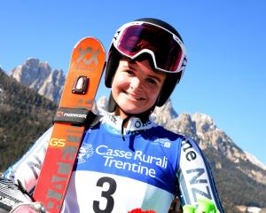 Alice Robinson. Photo: Supplied/Val di Fassa