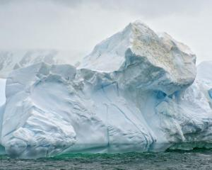 An iceberg in the Southern Ocean near King George Island. PHOTO: Christopher Michel