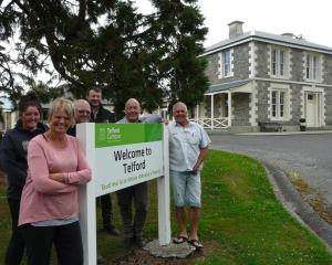 Telford staff and advocates (from left) Soroya Grant, Lisa Snell, Alister Ward, Mark Patterson MP...