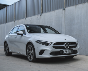 The award winning Mercedes-Benz A-Class