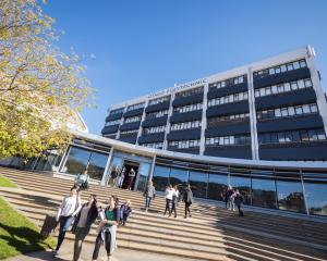 Otago Polytechnic. Photo: ODT files