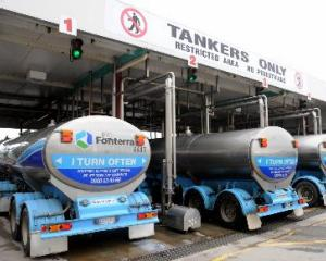 All Fonterra farmers will have the opportunity to participate in the scheme on a monthly basis -...