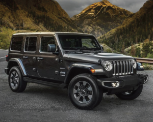 The highly anticipated all-new Jeep Wrangler