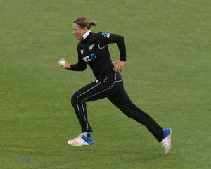 NZ bowler Lea Tahuhu. Photo: Getty