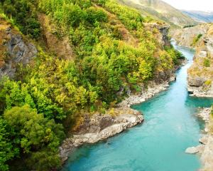 The Kawarau River, near Queenstown. Photo: Getty Images