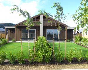 Two two-bedroom KiwiBuild units in a duplex at Northlake, Wanaka. Photo: Mark Price