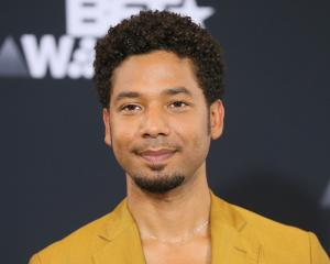 'Empire' singer and actor Jussie Smollett. Photo: Reuters