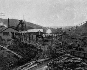 Kaitangata Coal Mine, November 15, 1905, 26 years after a tragic explosion that killed 34 men and...