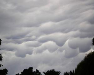 Errol Chave sent this stunning image of mammatus clouds above Mt Cargill taken from Opoho in...