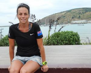 Queenstown athlete Kerryn Bell at Oamaru Harbour where the more than 320km Alps 2 Ocean Ultra...