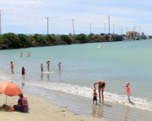 Oamaru Harbour is enjoyed by visitors and locals alike. PHOTO: ODT FILES