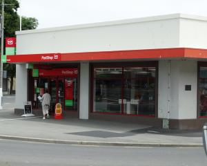 Oamaru's NZ Post and Kiwibank branch in Severn St. Photo: Supplied
