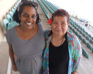 Rev Anashuya Fletcher and Hellen PuhiPuhi. Photo: RNZ