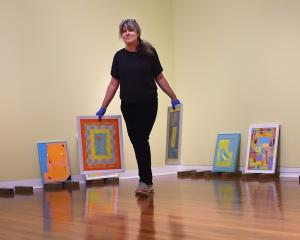 Dunedin artist Saskia Leek. Photo: Peter McIntosh