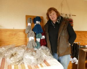 The market for the fibre from Janette Buckingham's flock stretches throughout New Zealand and...