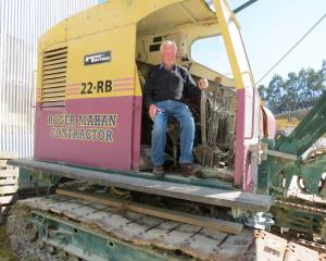 Vintage vehicle and equipment collector Roger Mahan, of Milton, is looking forward to taking the...