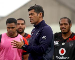 Stephen Kearney at Warriors training. Photo: Getty Images