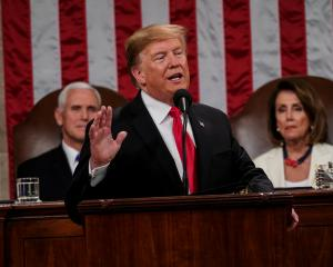 President Donald Trump delivered the State of the Union address, with Vice President Mike Pence...