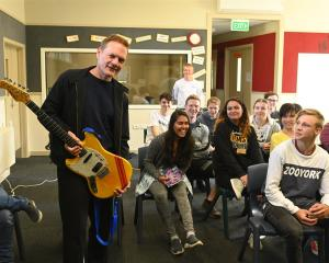 Straitjacket Fits and Dimmer musician Shayne P Carter dispenses advice to budding musicians at...