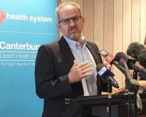 Vascular surgeon Adib Khanafer had tears in his eyes as he spoke to media. Photo: RNZ