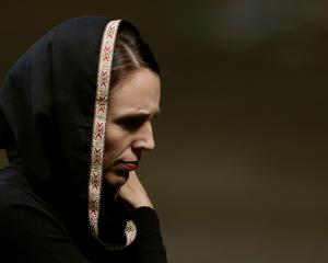 New Zealand Prime Minister Jacinda Ardern wearing a hijab following the Christchurch terror...