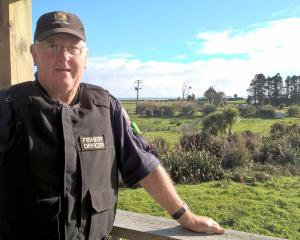 Ministry of Primary Industries fishery officer Barry Nicolle. PHOTO: GREYMOUTH STAR