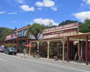 Reefton's main street has movie-set good looks. Photos: Mike Yardley