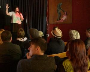 British comedian Sajeela Kershi says her show Fights Like a Girl is very upbeat and funny despite...