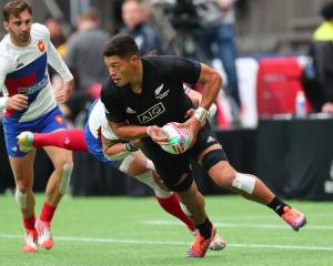 New Zealand had a victory over France before their loss to Spain. Photo: Getty
