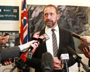 Minister Responsible for Pike River Re-entry Andrew Little makes the announcement on the re-entry...
